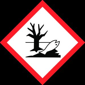 Kennzeichnung Penetriermittel, Gefahrensymbol Umwelt