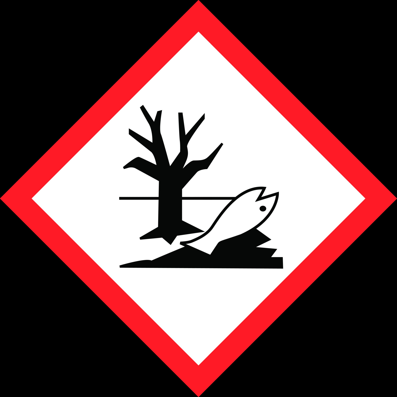 GHS Symbol Umweltgefährlich AGO Quart