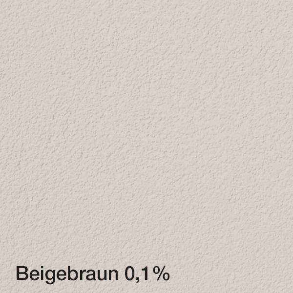 Farbton Acryl Fassadenfarbe Beigebraun 0,1% auf Fassade