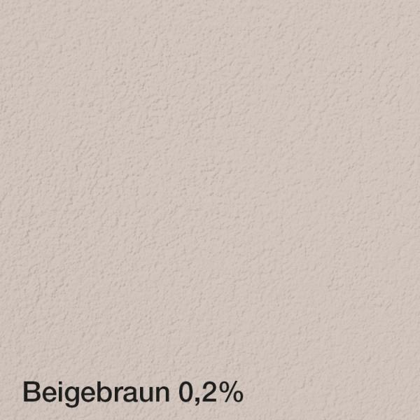 Farbton Acryl Fassadenfarbe Beigebraun 0,2% auf Fassade
