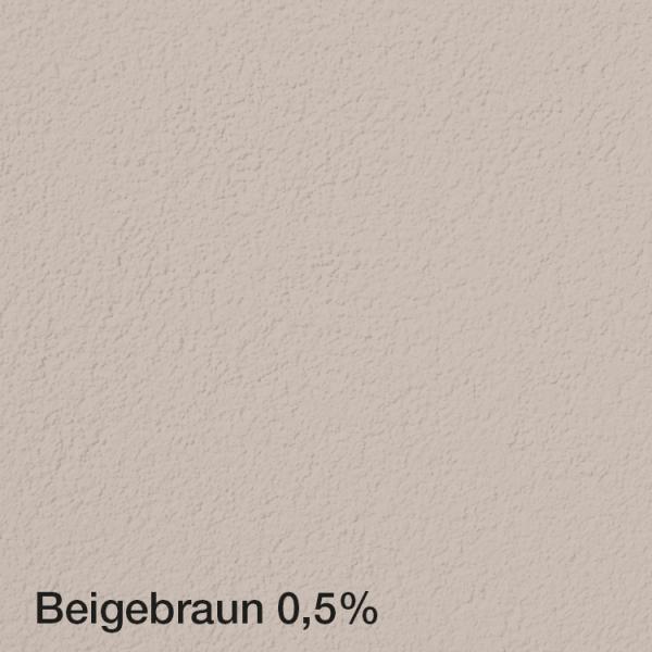 Farbton Acryl Fassadenfarbe Beigebraun 0,5% auf Fassade