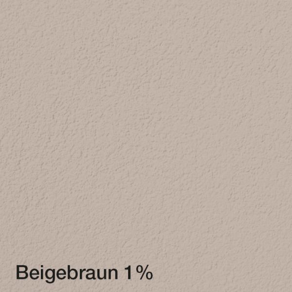 Farbton Acryl Fassadenfarbe Beigebraun 1% auf Fassade