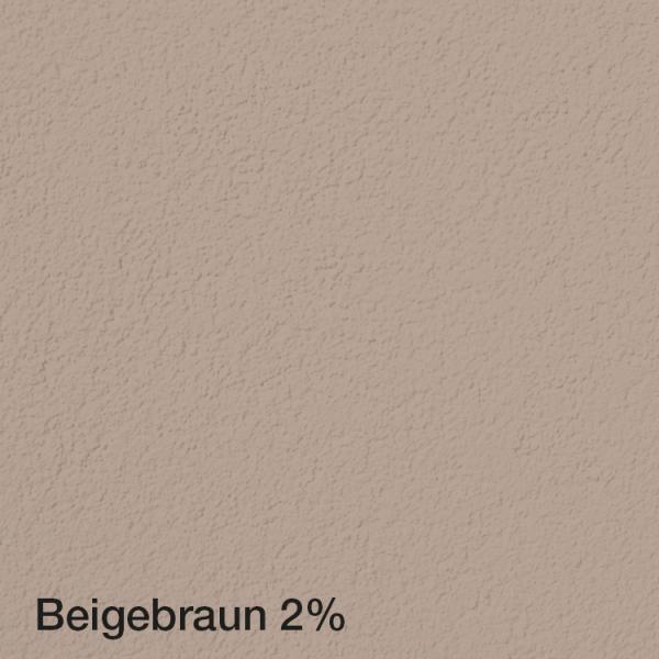Farbton Acryl Fassadenfarbe Beigebraun 2% auf Fassade