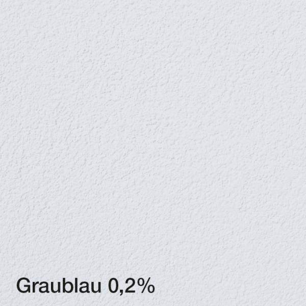 Farbton Acryl Fassadenfarbe Graublau 0,2% auf Fassade