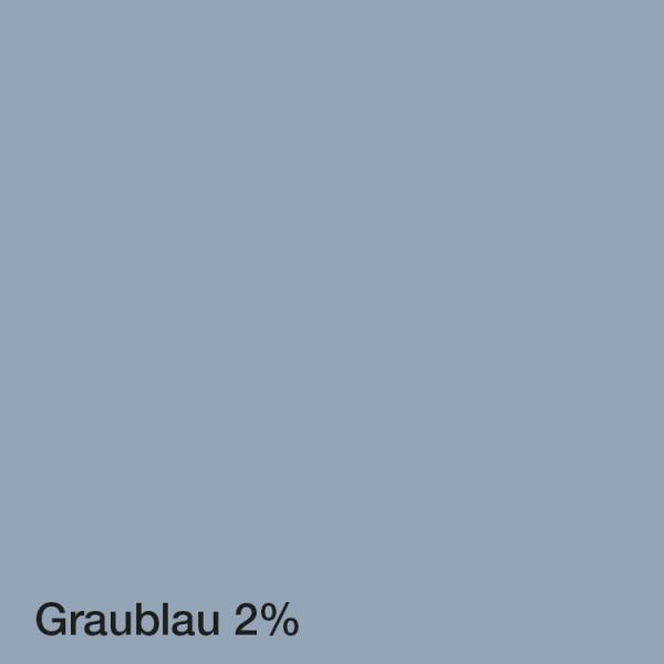 Farbton Acryl Fassadenfarbe Graublau 2%