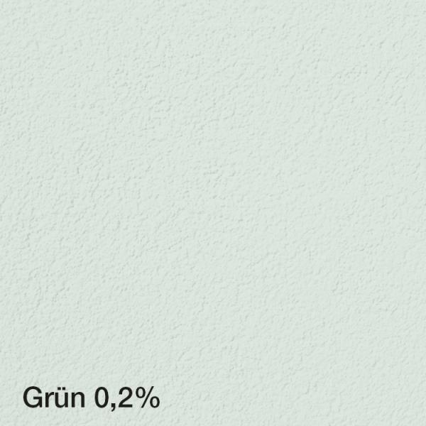 Farbton Acryl Fassadenfarbe Grün 0,2% auf Fassade
