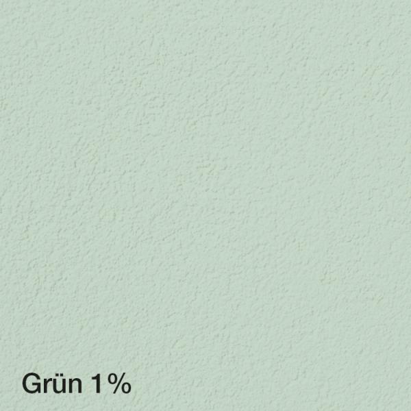 Farbton Acryl Fassadenfarbe Grün 1% auf Fassade