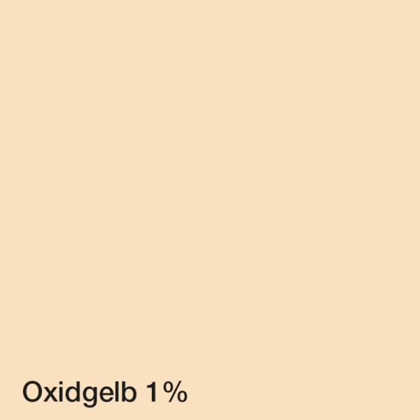 Farbton Acryl-Fassadenfarbe_Oxidgelb 1%