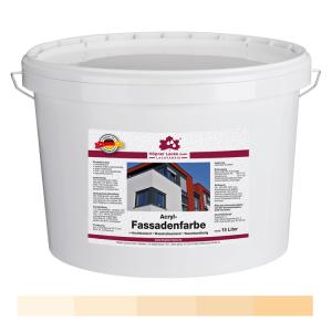 Acryl Fassadenfarbe Oxidgelb