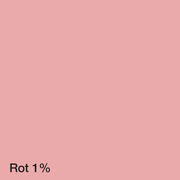 Farbton Acryl Fassadenfarbe Rot 1%