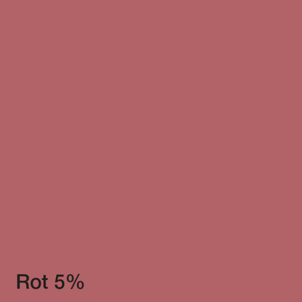 Farbton Acryl Fassadenfarbe Rot 5%