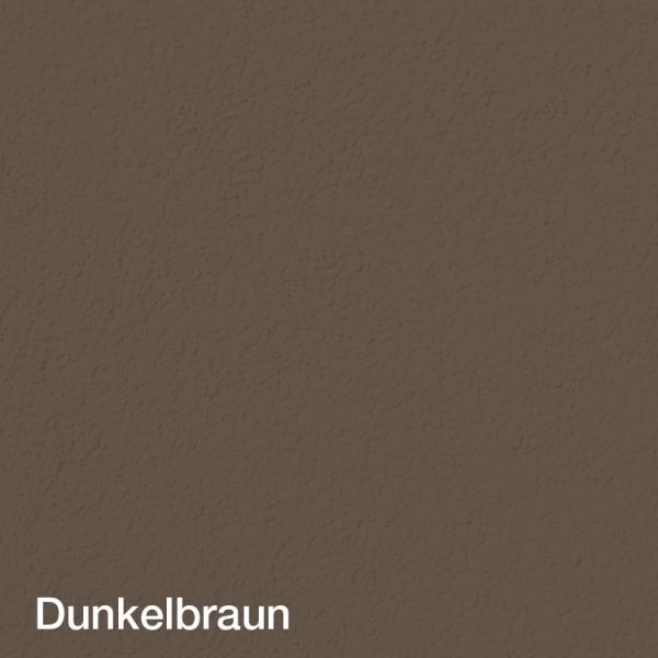 Farbton Acryl Sockelfarbe Dunkelbraun auf Putz