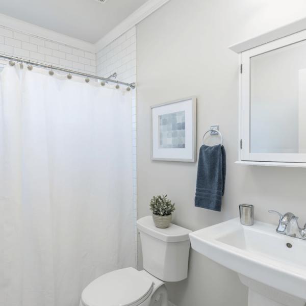 Hoepner Bad und Küchenfarbe Anwendung Bad