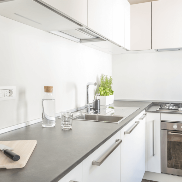 Hoepner Bad und Küchenfarbe Anwendung Küche
