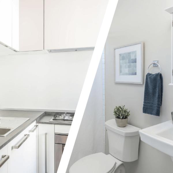 Hoepner Bad und Küchenfarbe Anwendung
