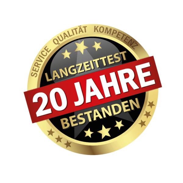 Hoepner Spezial Acryl Dachbeschichtung Siegel Prüfung 20 Jahre Langzeittest
