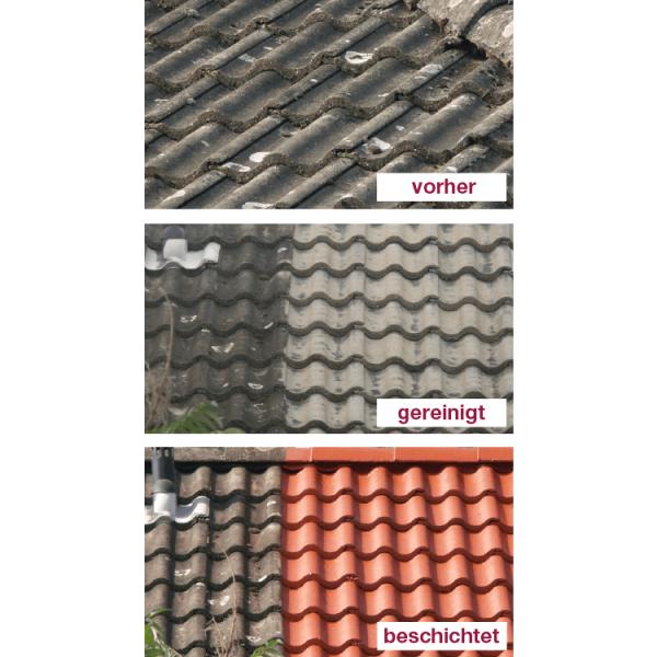 Hoepner Spezial Acryl und NANO Dachbeschichtung Arbeitsablauf