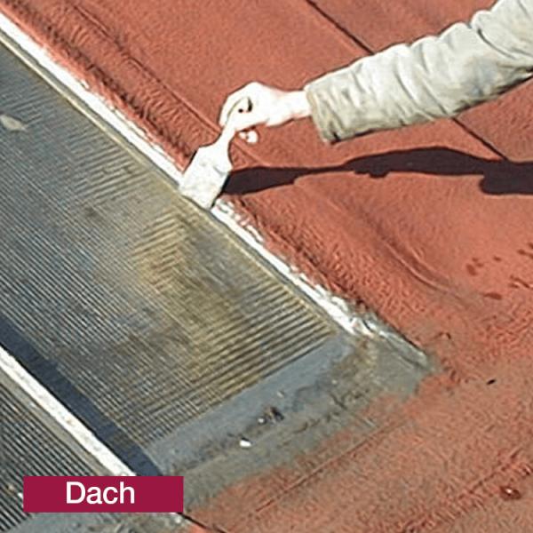 Hoepner Acryl Faserdichtmasse Anwendung Dachfenster