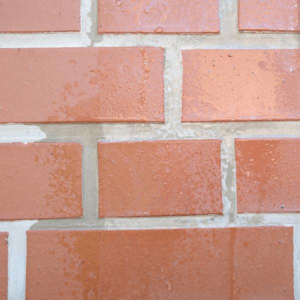 Hoepner Fassadenimpraegnierung Abperleffekt auf Klinker