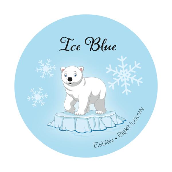 Innenwandfarbe Dispersionsfarbe Happy Kids Label Eisblau