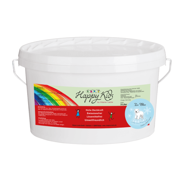 Innenwandfarbe Dispersionsfarbe Happy Kids_Produkt_Eisblau