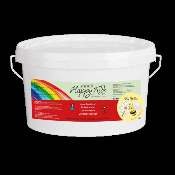 Innenwandfarbe Dispersionsfarbe Happy Kids_Produkt_Gelb