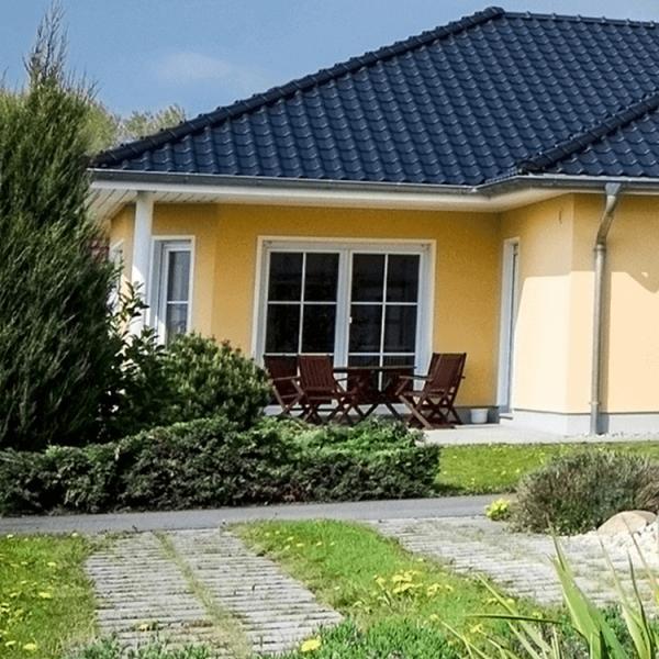 Acryl Fassadenfarbe_Fassade-Oxidgelb